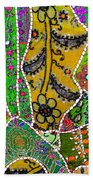 Travel Shopping Colorful Tapestry 8 India Rajasthan Beach Towel