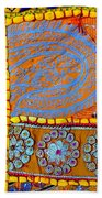 Travel Shopping Colorful Tapestry 9 India Rajasthan Beach Towel
