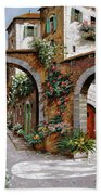 Tre Archi Beach Towel by Guido Borelli