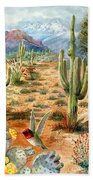Treasures Of The Desert Beach Towel