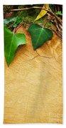 Tree Background Beach Towel