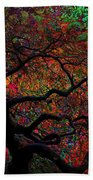 Tree Fabrica Abstract Graphic Beach Towel