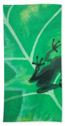 Tree Frog Beach Towel