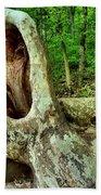 Tree Mouth Beach Towel