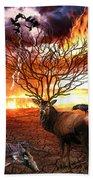 Tree Of Death Beach Towel