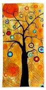 Tree Of Happiness 647 - Marucii Beach Towel
