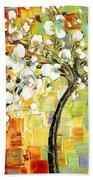 Tree Of Joy Beach Towel