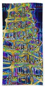 Tree Of Light Beach Towel