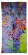 Tree Of Many Colors Beach Towel