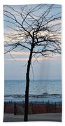 Tree On Beach Beach Towel