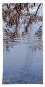 Tree Reflections I Beach Towel