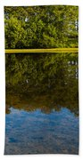 Tree Reflections Beach Towel