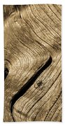 Tree Rings Beach Towel