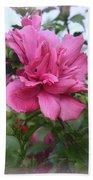Tree Rose Of Sharon Beach Towel