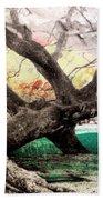 Tree Series 01 Beach Towel