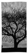 Tree Swing Beach Towel
