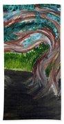 Tree Tunnel Beach Towel