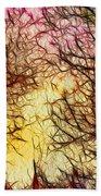 Trees Of The Four Seasons Beach Towel