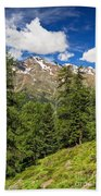 Trentino - Pejo Valley On Summer Beach Towel