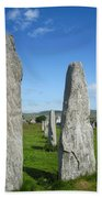 Triangular Callanish Stone Beach Towel
