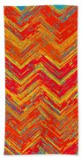 Tribal Pattern 019 Beach Towel