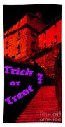 Trick Or Treat ? Beach Towel