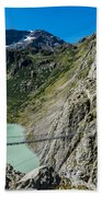 Triftsee Suspension Bridge - Gadmen - Switzerland Beach Towel