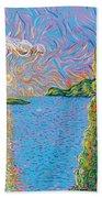 Trinity Lake 2 Beach Towel