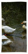 Triple Ducks Beach Towel