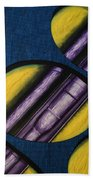 Tripping Pipe Beach Towel