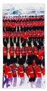 Trooping The Colour Beach Towel
