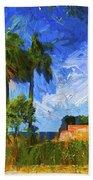 Tropical Paradise Beach Towel