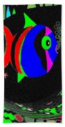 Tropical Cave Fish 1 Beach Towel
