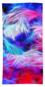 Tropical Coral Reef Beach Towel