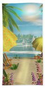Tropical Delight Beach Towel