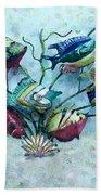 Tropical Fish 4 Beach Towel