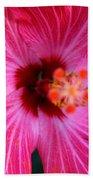 Tropical Flower Time Beach Towel