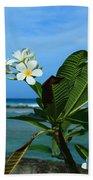 Tropical Flowers Beach Sheet
