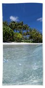 Tropical Glass Beach Towel