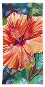 Tropical Hibiscus 5 Beach Towel