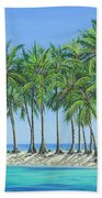 Tropical Lagoon Beach Towel