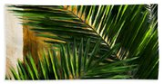 Tropical Leaves Beach Sheet