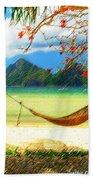 Tropical Peace Beach Towel