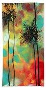 Tropics By Madart Beach Towel