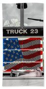 Truck 23 Beach Towel