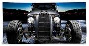 Millers Chop Shop 1964 Truckster Frontend Beach Towel