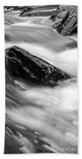 True's Brook Gorge Water Fall Beach Towel
