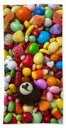 Truffle And Candy Beach Towel