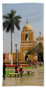 Trujillo Peru Plaza Beach Towel