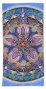 Truth Mandala Beach Towel